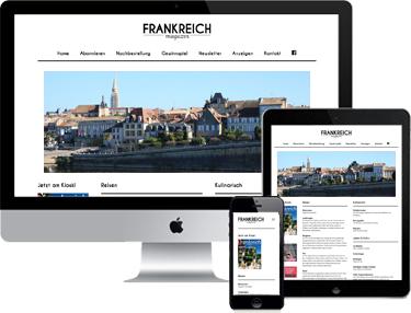 Frankreich Magazin Anzeigen