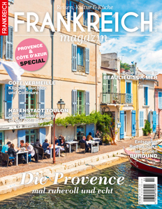 Titelseite Frankreichmagazin Frühjahr 2020